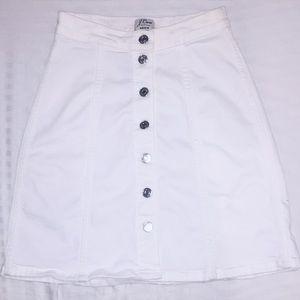 Jcrew high waisted skirt